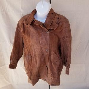 Avant Brown leather Jacket
